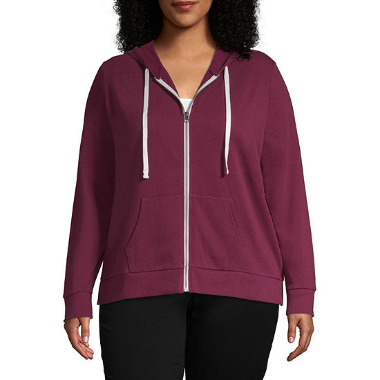 Flirtitude Hoodie - Juniors Plus