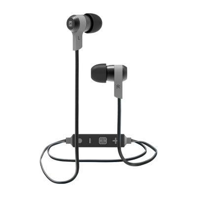 iHome iB39 Wireless Bluetooth Metal Earbuds with Mic Remote