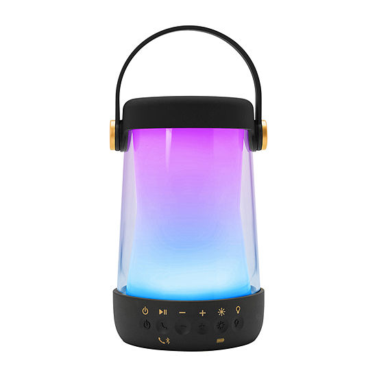 iHome iBT10B Color Changing Dual Purpose Bluetooth Rechargeable Speaker