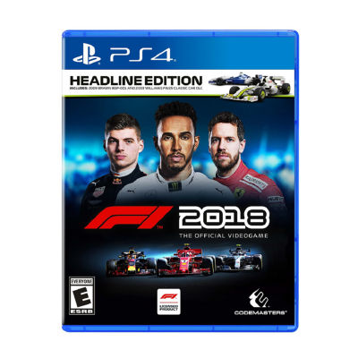 Playstation 4 Formula 1 2018 Special Headline Edition Video Game