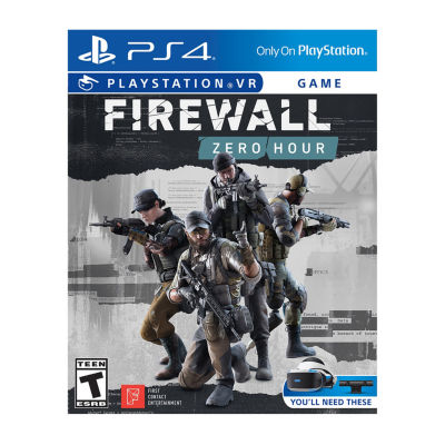 Playstation 4 Psvr Firewall: Zero Hour Video Game