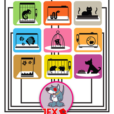 Tex Anti-Microbial Floor Protector Pet Mat for Hard Floors