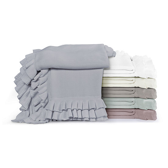 Five Queens Court Jackie Knit Throw