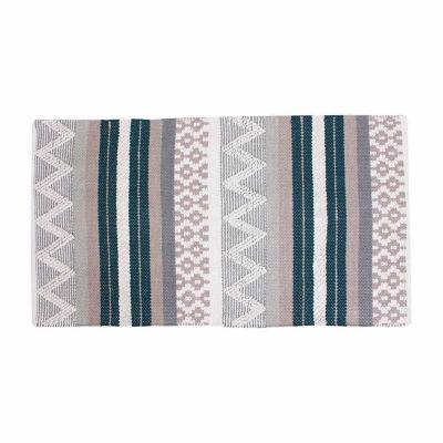 Thro by Marlo Lorenz Jayden Cotton Textured Accent Rug