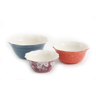 Gibson Urban Market 3-pc. Serving Bowl
