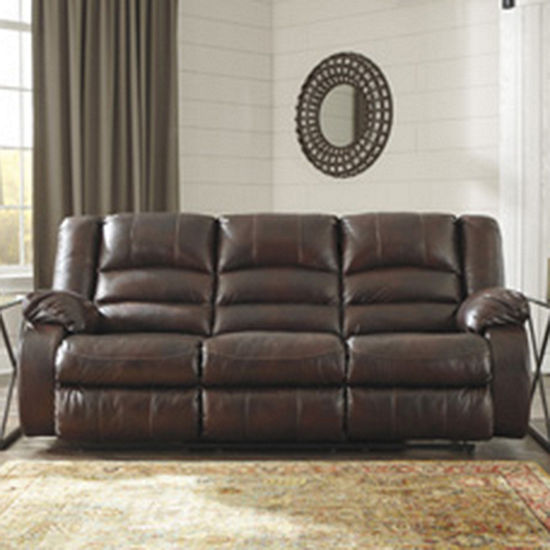 Black Leather Sofa Jcpenney: Ashley Leather Reclining Sofas