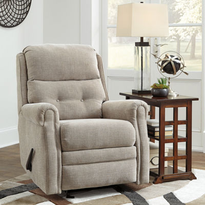 Signature Design by Ashley® Penzberg Chenille Button-Tufted Recliner