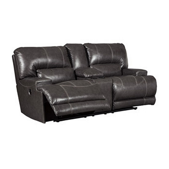 Signature Design by Ashley® McCormack Power Reclining Loveseat with Console