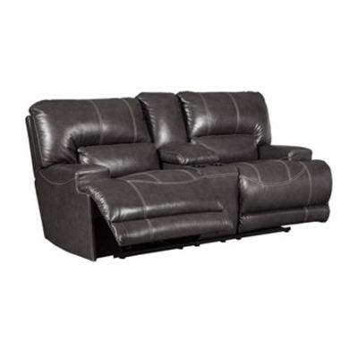Signature Design by Ashley® McCaskill Reclining Loveseat with Console