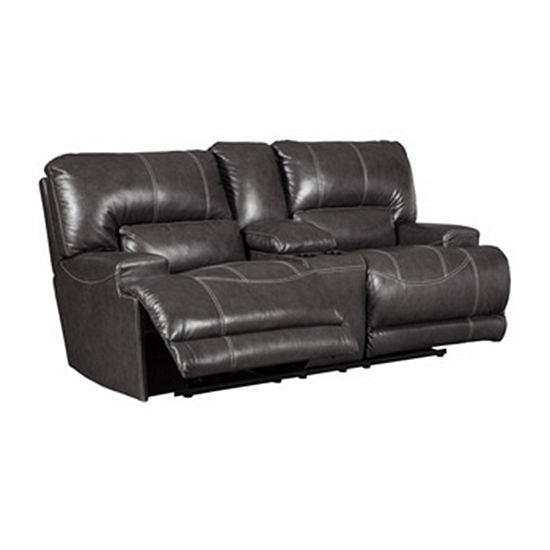 Signature Design by Ashley® McCormack Reclining Loveseat with Console