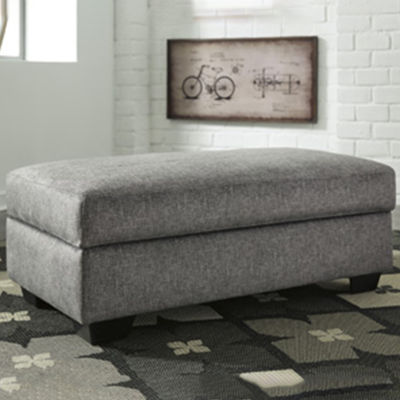 Signature Design by Ashley® Benchcraft® Belcastel Ottoman With Storage