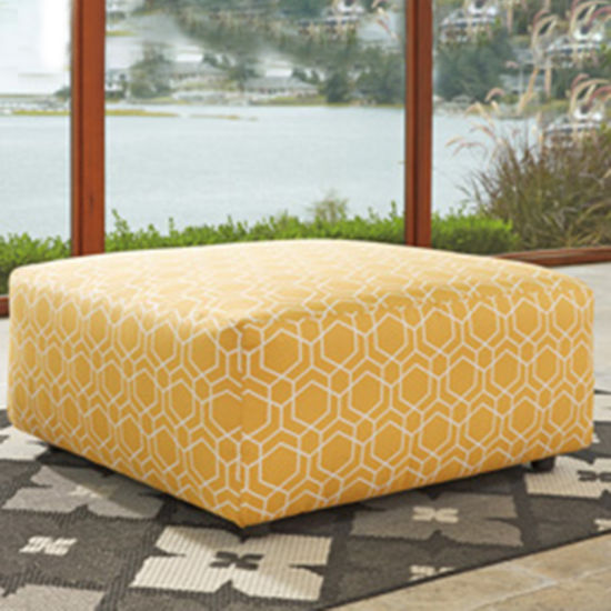 Signature Design by Ashley® Benchcraft® Ayanna Nuvella Oversized Accent Ottoman