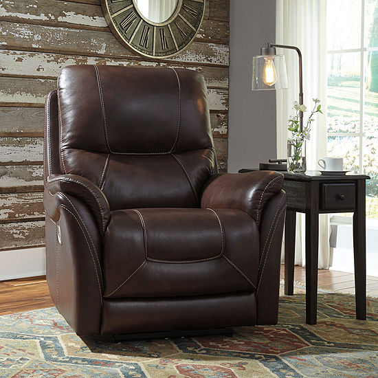 Signature Design by Ashley® Stolpen Power Recliner With Adjustable Headrest