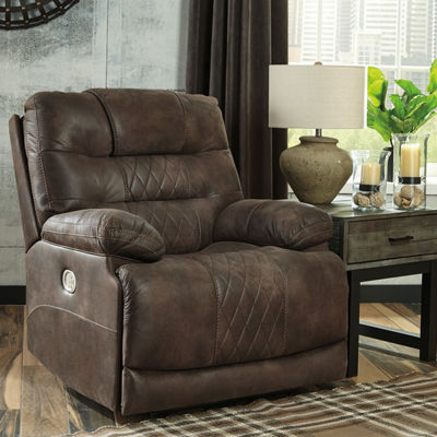 Signature Design by Ashley® Welsford Power Recliner with USB Charging Port