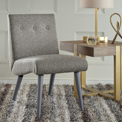 Signature Design by Ashley® Zittan Pattern Button-Tufted Accent Chair