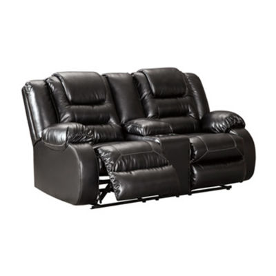 Signature Design by Ashley® Vacherie Reclining Loveseat with Console