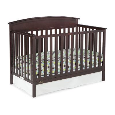 Graco 4-In-1 Baby Crib - Espresso
