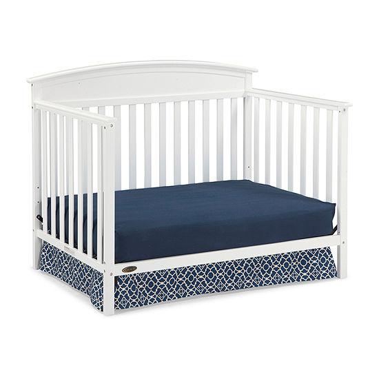 Graco 4 In 1 Baby Crib White