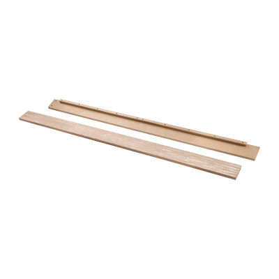DaVinci Full-Size Bed Conversion Kit (M5789) Conversion Rail - Rustic Pine