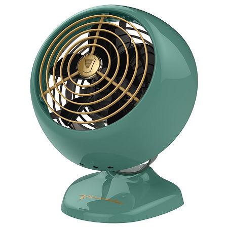Vornado VFAN Mini Classic Vintage Air Circulator Fan, One Size , Green