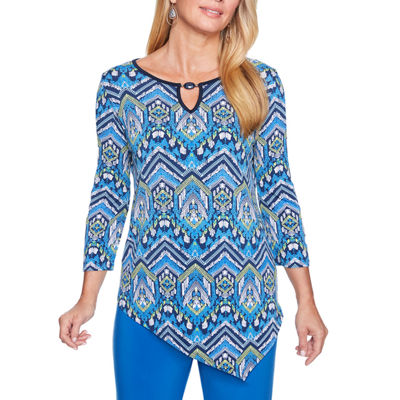 Alfred Dunner Royal Street Tunic Top