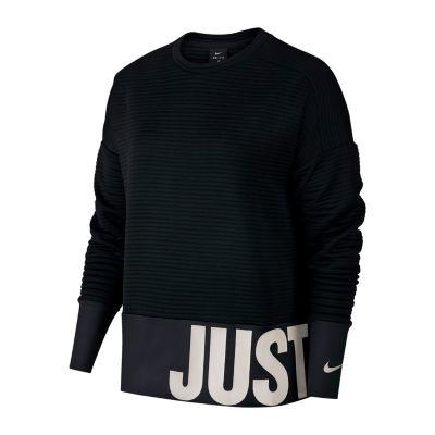 Nike Womens Just Do It Crew Sweatshirt