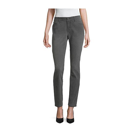 Liz Claiborne Womens Low Rise Skinny Fit Jean