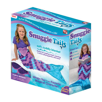 As Seen On TV Snuggie Tails Purple Mermaid