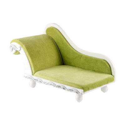 The Queen's Treasures 18 Inch Doll Furniture White Fainting Sofa