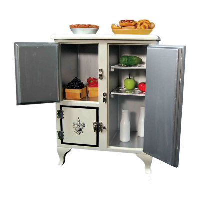 The Queen's Treasures 18 Inch Doll Kitchen Furniture Icebox Fridge