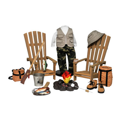 The Queen's Treasures Complete18 Inch Doll Outdoor Adventure Set