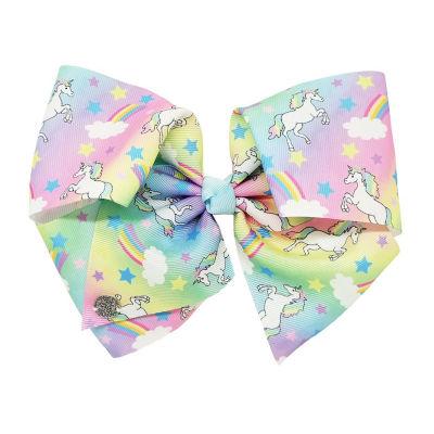 JoJo Siwa Signature Rainbow Bow W Unicorns And Rainbows