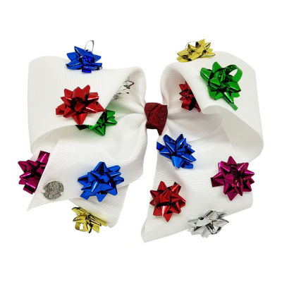 JoJo Siwa Signature Mini 3D Gift Bow White Bow W Lure X Keeper