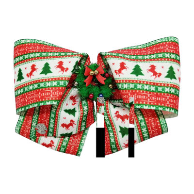 JoJo Siwa Signature Christmas Tree Unicorn Bow Wreath