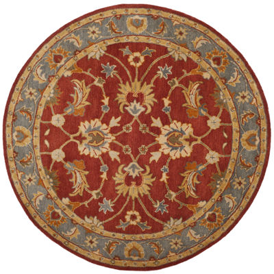 Safavieh Heritage Collection Noelle Oriental Round Area Rug