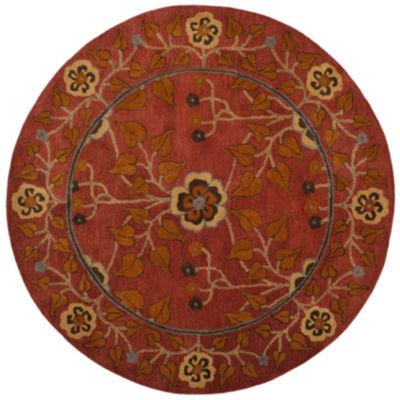 Safavieh Heritage Collection Summer Oriental RoundArea Rug