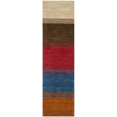 Safavieh Himalaya Collection Ilarion Striped Runner Rug