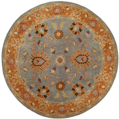 Safavieh Heritage Collection Vithya Oriental RoundArea Rug