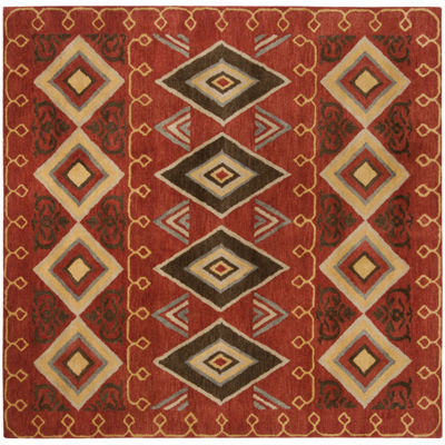 Safavieh Heritage Collection Ruth Geometric SquareArea Rug