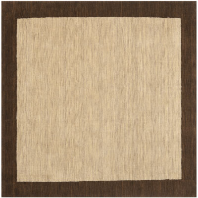 Safavieh Himalaya Collection Grozda Solid Square Area Rug