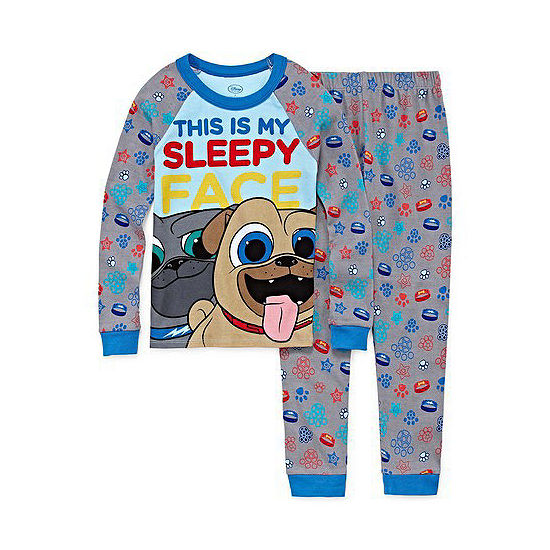 Disney Boys 2-pc. Puppy Dog Pals Pajama Set Toddler