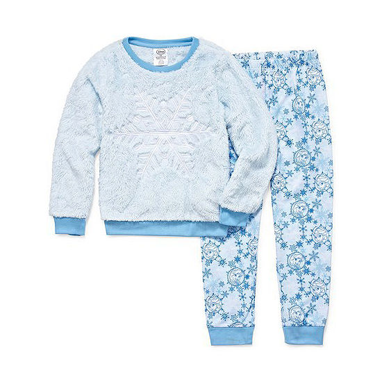 Disney Girls 2-pc. Frozen Pajama Set Big Kid