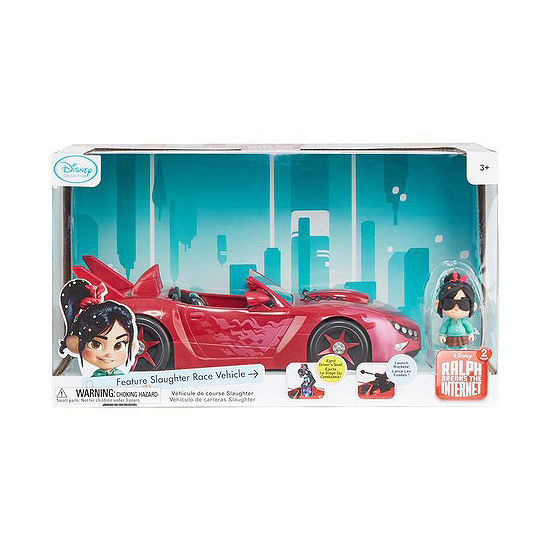 Disney Wreck-It-Ralph 2 Slaughter Race Vehicle with Vanellope Car