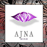Metaverse Art Chakras Yoga Framed AJNA V2 Canvas Wall Art