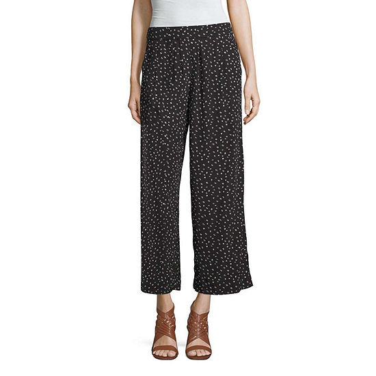 a.n.a-Tall Womens Soft Crop Pant