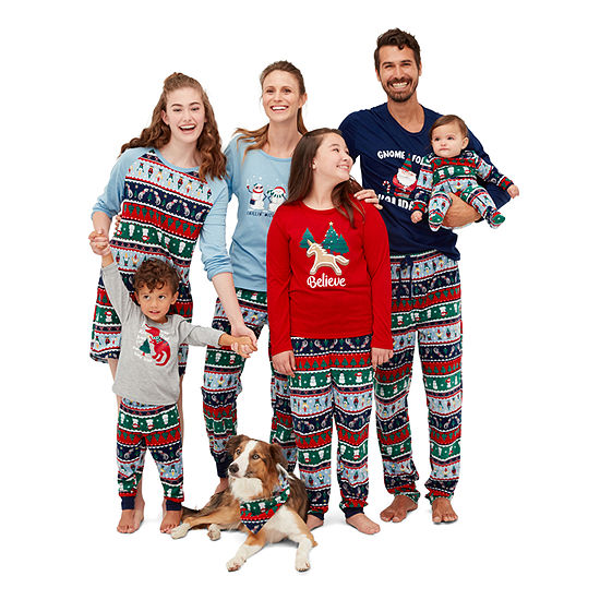 North Pole Trading Co. Fun Fairisle Family Pajamas