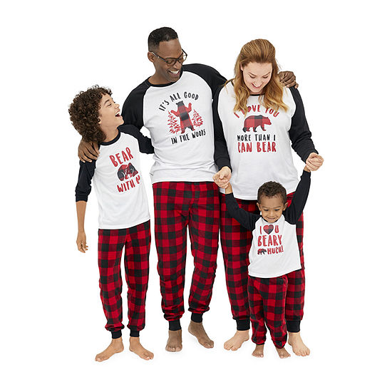 Holiday #Famjams Bear Buffalo Family Pajamas