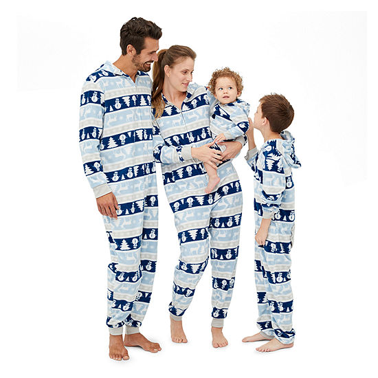 Secret Santa Chill Out Family Pajamas