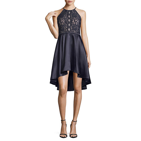 My Michelle-Juniors Sleeveless High-Low Dress Set