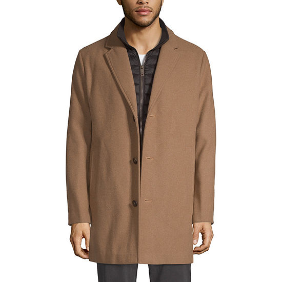Dockers Water Resistant Interior Pockets Midweight Topcoat